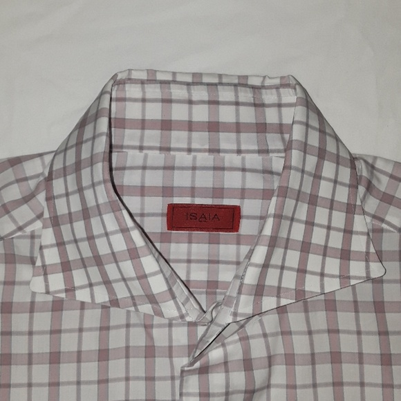 Isaia Other - Isaia dress shirt size 16 / 41 made in Italy